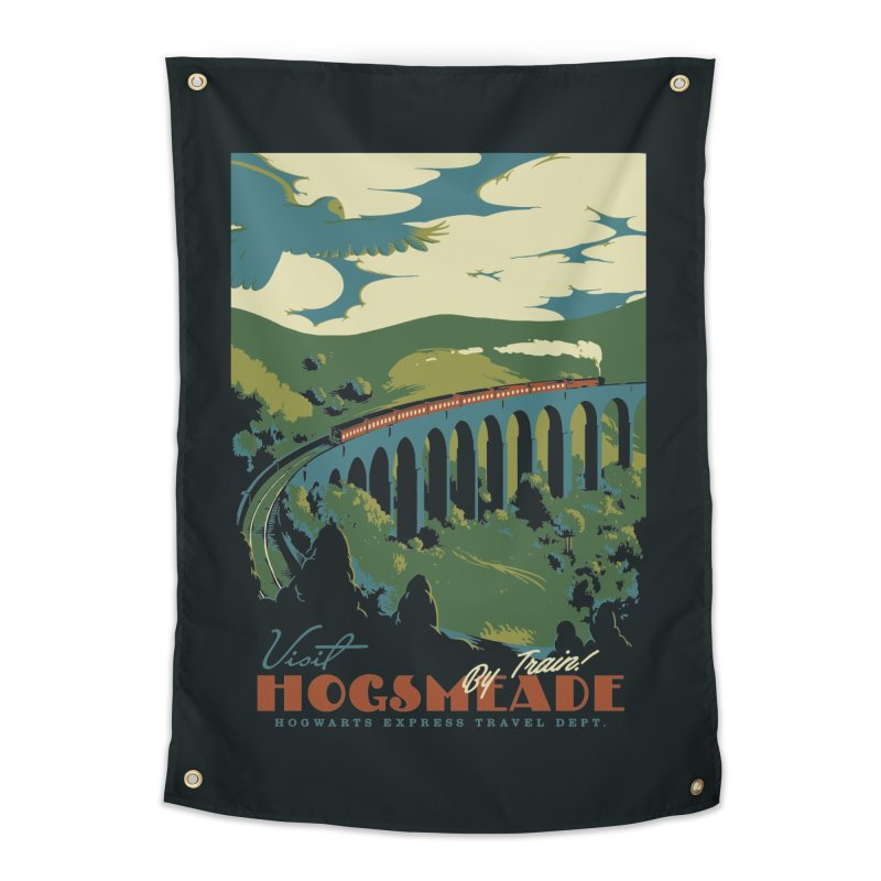 Visit Hogsmeade Home Tapestry by mathiole