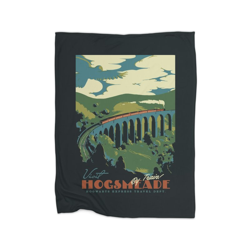 Visit Hogsmeade Home Blanket by mathiole