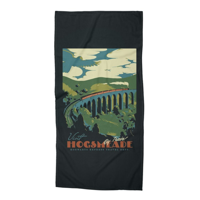 Visit Hogsmeade Accessories Beach Towel by mathiole