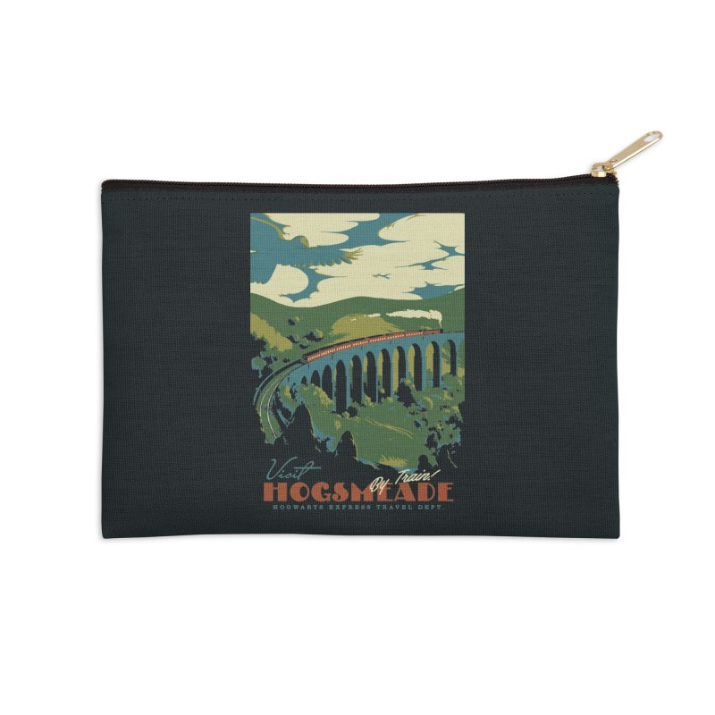 Visit Hogsmeade Accessories Zip Pouch by mathiole