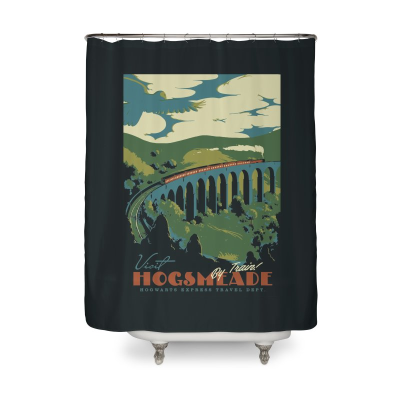 Visit Hogsmeade Home Shower Curtain by mathiole