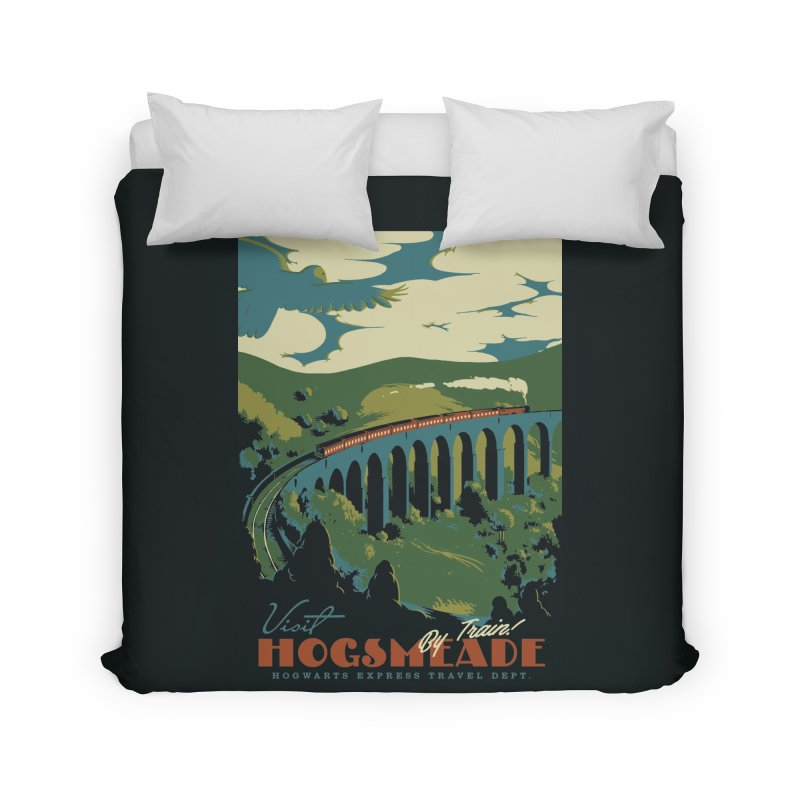 Visit Hogsmeade Home Duvet by mathiole