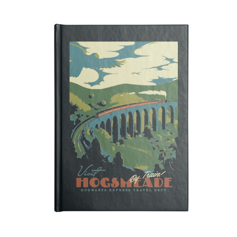 Visit Hogsmeade Accessories Notebook by mathiole