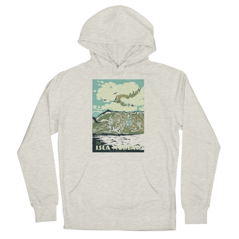 Visit Isla Nublar Men's French Terry Pullover Hoody by mathiole