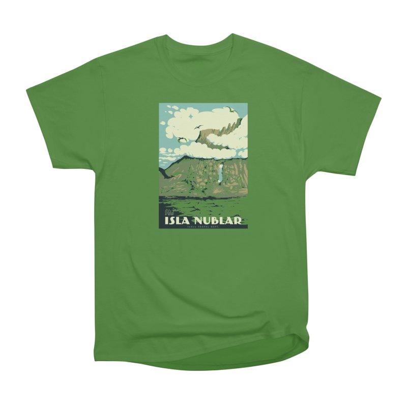 Visit Isla Nublar Men's Classic T-Shirt by mathiole