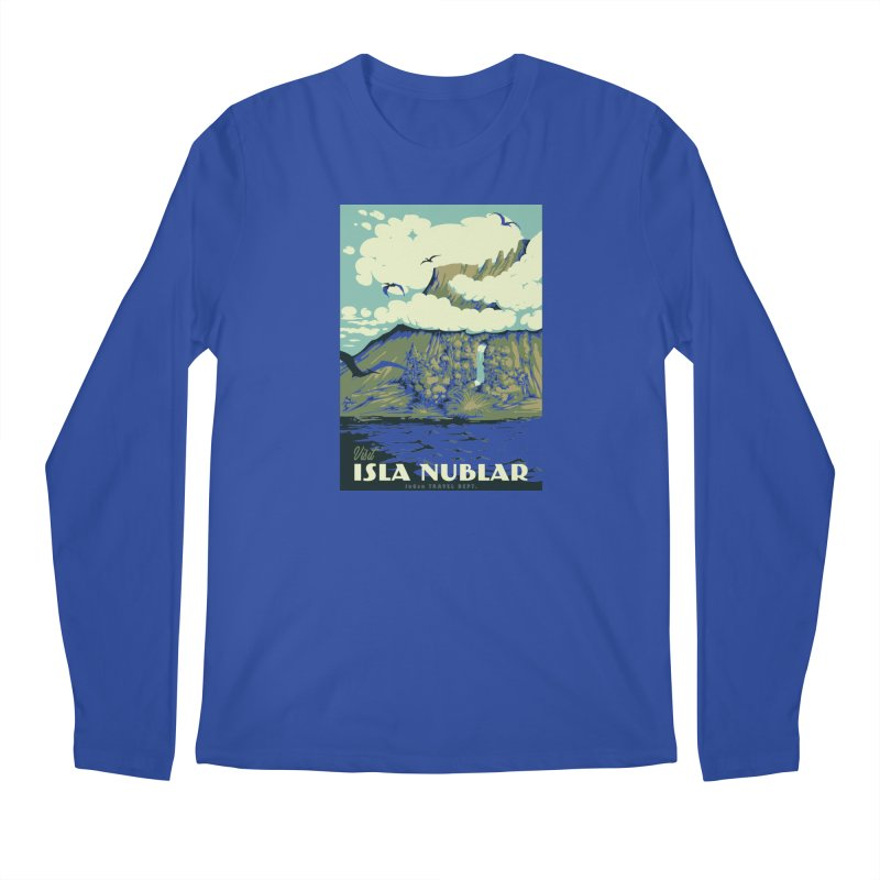 Visit Isla Nublar Men's Regular Longsleeve T-Shirt by mathiole