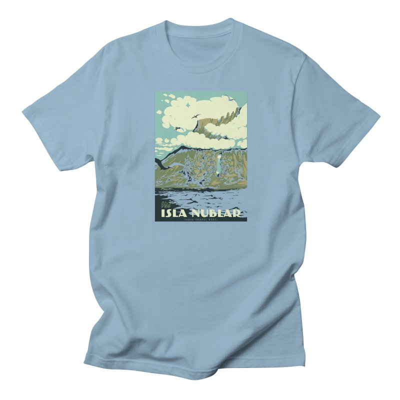 Visit Isla Nublar Men's T-Shirt by mathiole