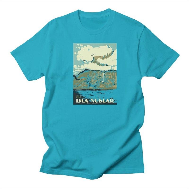 Visit Isla Nublar Women's Regular Unisex T-Shirt by mathiole