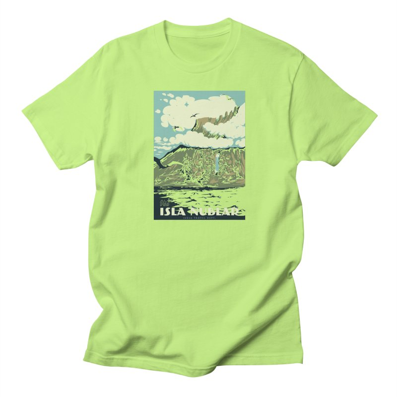 Visit Isla Nublar Men's T-Shirt by mathiole