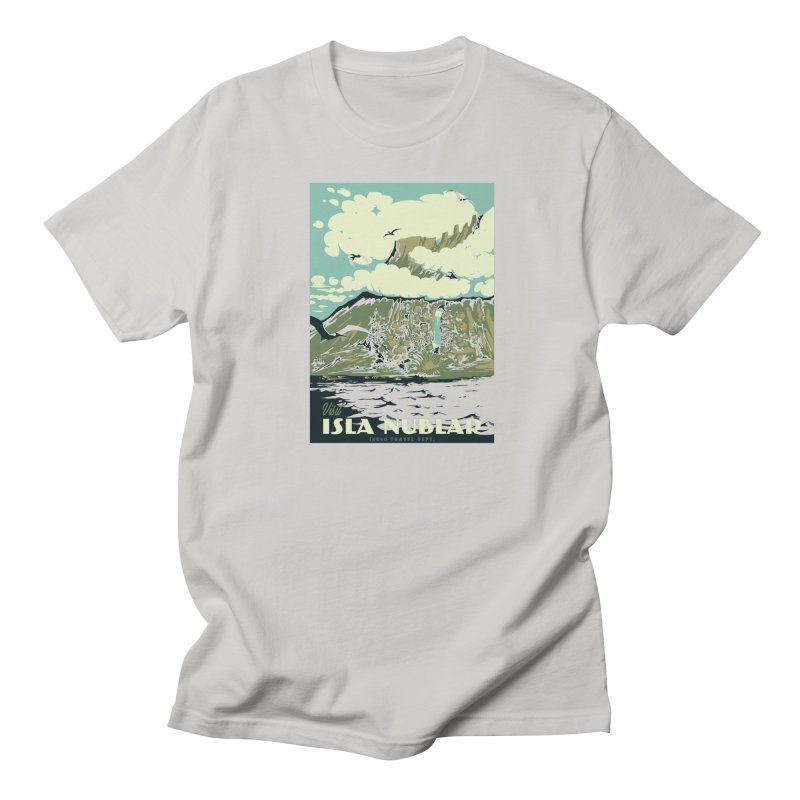 Visit Isla Nublar Men's Regular T-Shirt by mathiole