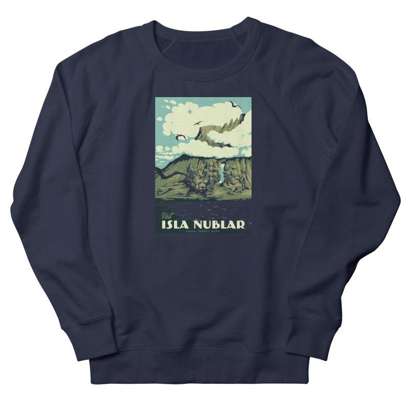Visit Isla Nublar Women's Sweatshirt by mathiole
