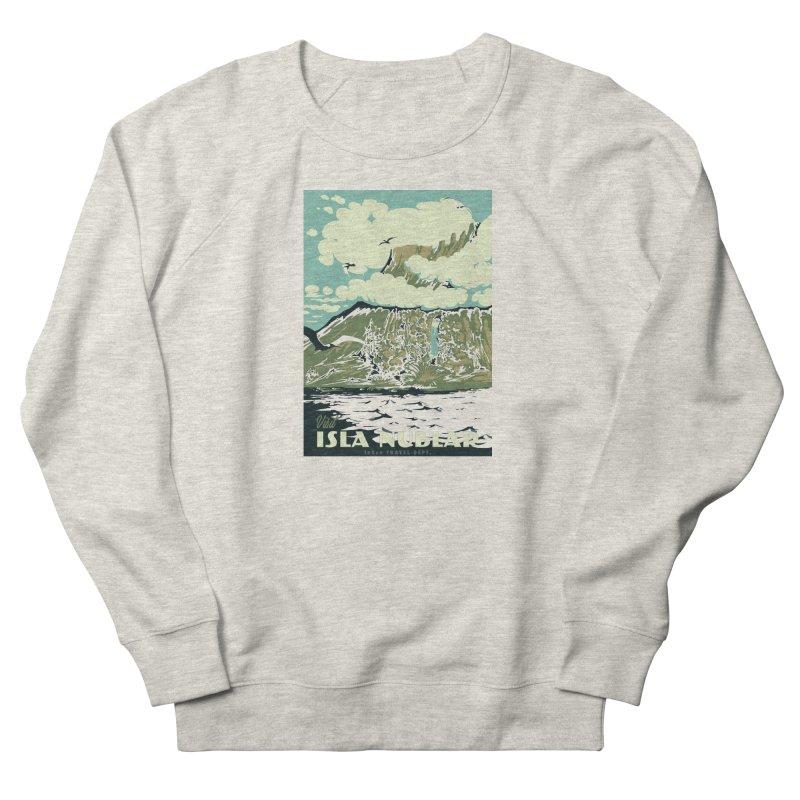 Visit Isla Nublar Women's French Terry Sweatshirt by mathiole