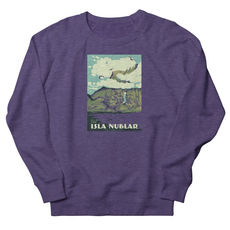 Visit Isla Nublar Men's Sweatshirt by mathiole