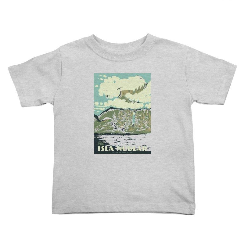Visit Isla Nublar Kids Toddler T-Shirt by mathiole