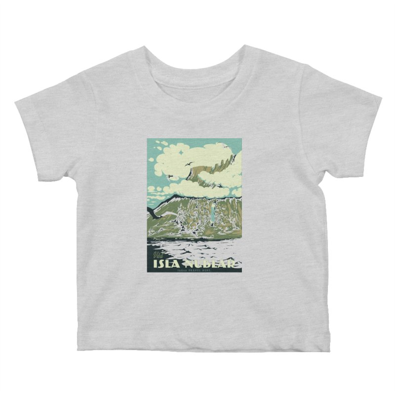 Visit Isla Nublar Kids Baby T-Shirt by mathiole