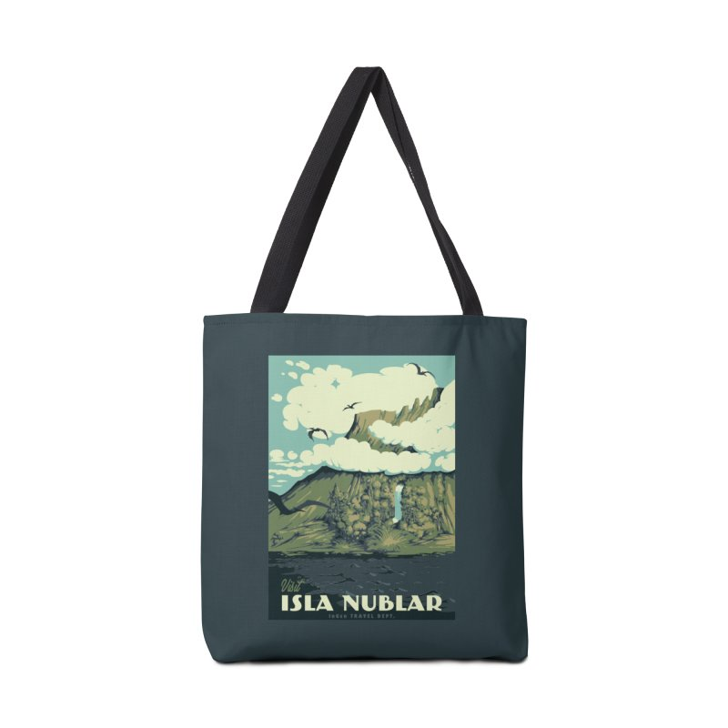 Visit Isla Nublar Accessories Bag by mathiole