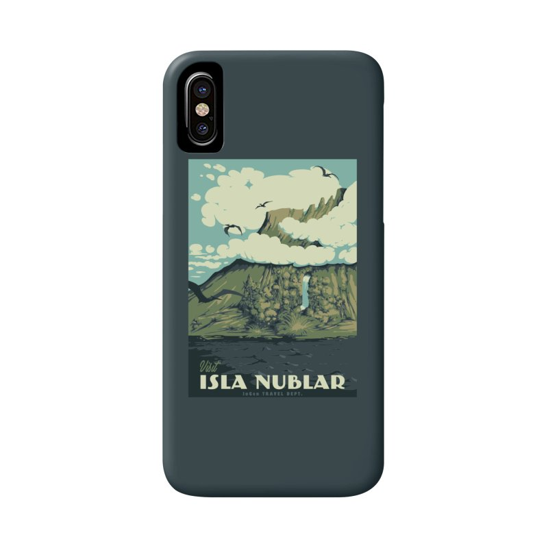 Visit Isla Nublar Accessories Phone Case by mathiole