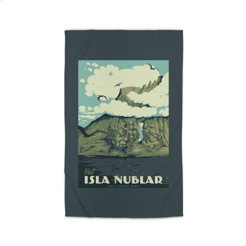 Visit Isla Nublar Home Rug by mathiole