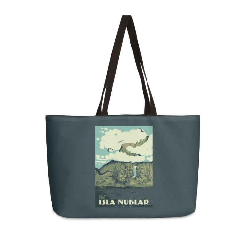 Visit Isla Nublar Accessories Weekender Bag Bag by mathiole
