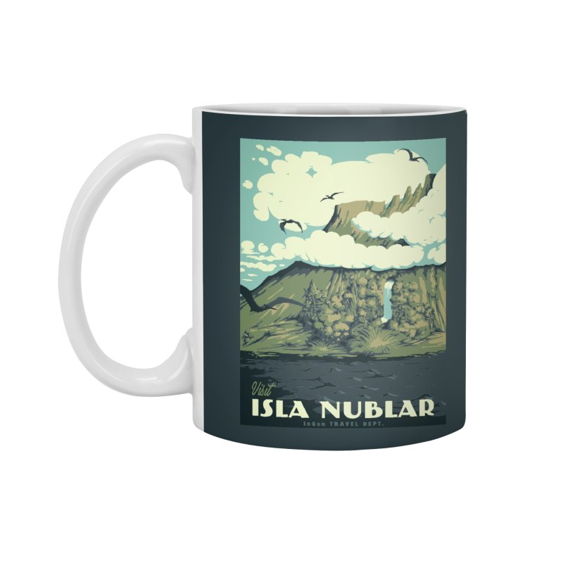 Visit Isla Nublar Accessories Mug by mathiole