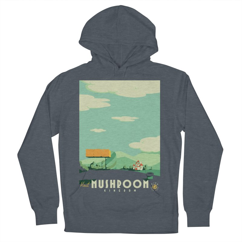 Visit Mushroom Kingdom Women's Pullover Hoody by mathiole