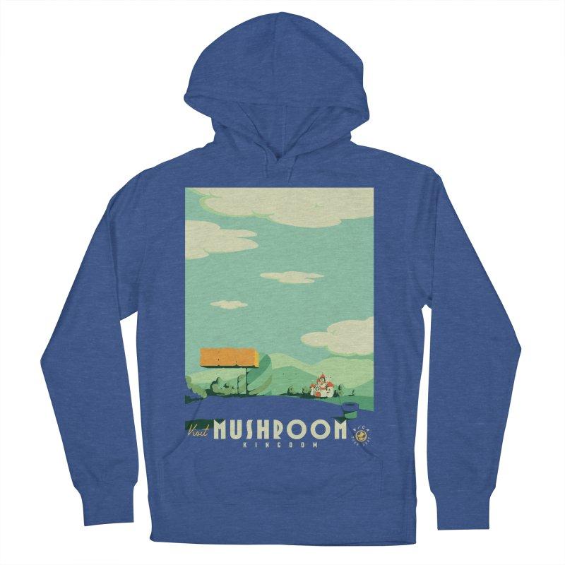 Visit Mushroom Kingdom Men's Pullover Hoody by mathiole