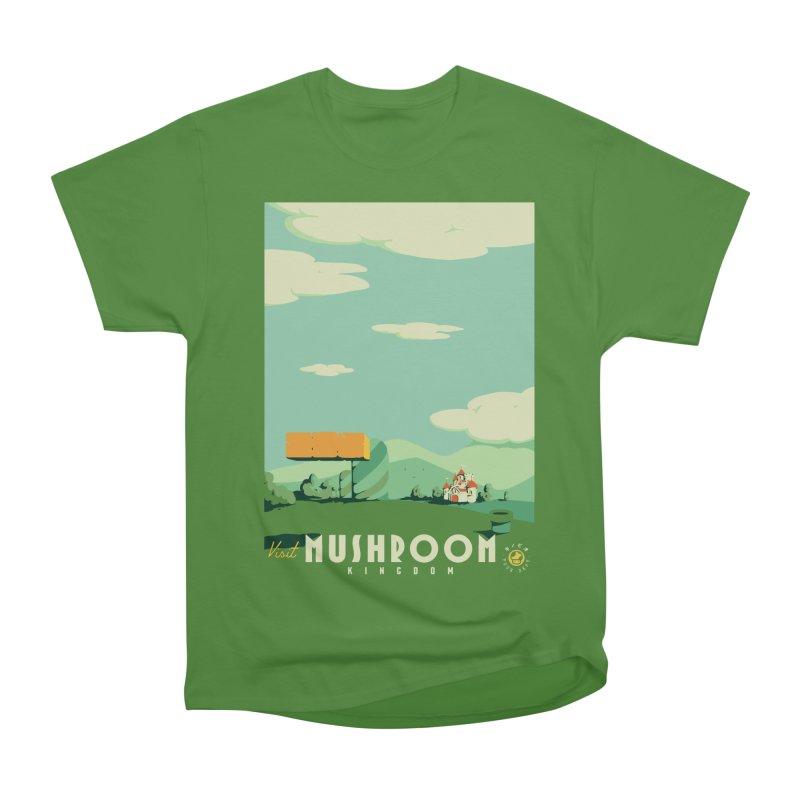 Visit Mushroom Kingdom Women's Classic Unisex T-Shirt by mathiole
