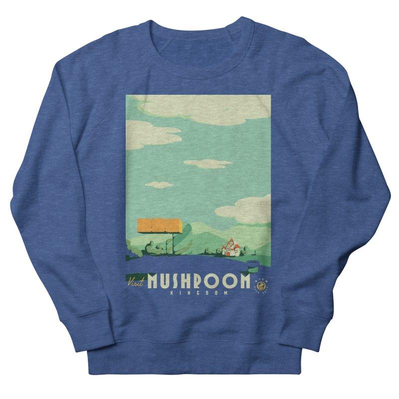 Visit Mushroom Kingdom Women's Sweatshirt by mathiole