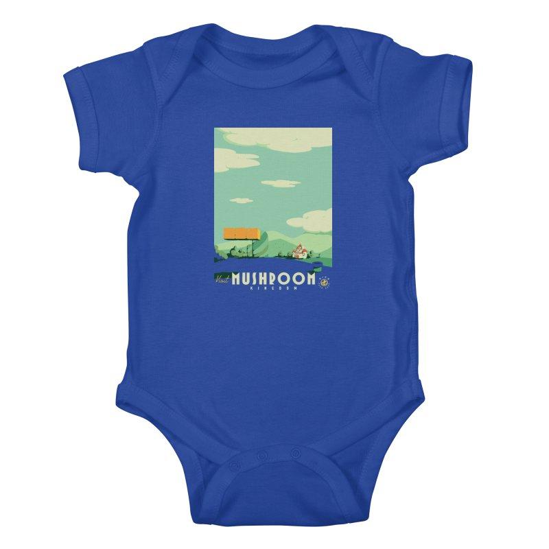 Visit Mushroom Kingdom Kids Baby Bodysuit by mathiole