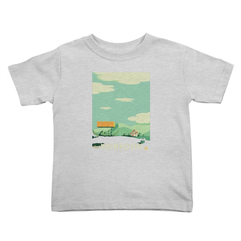 Visit Mushroom Kingdom Kids Toddler T-Shirt by mathiole
