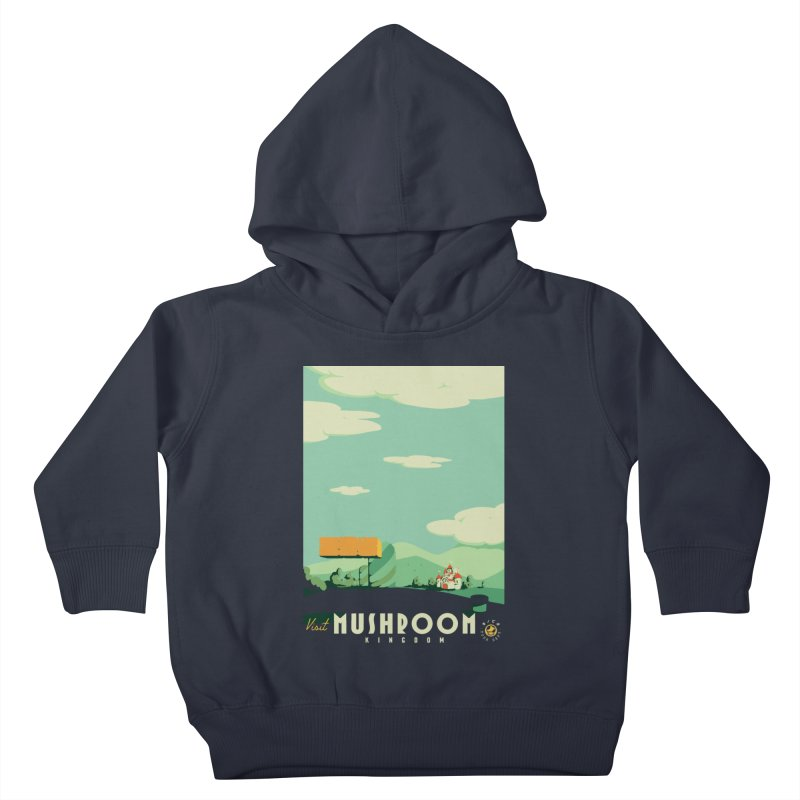 Visit Mushroom Kingdom Kids Toddler Pullover Hoody by mathiole