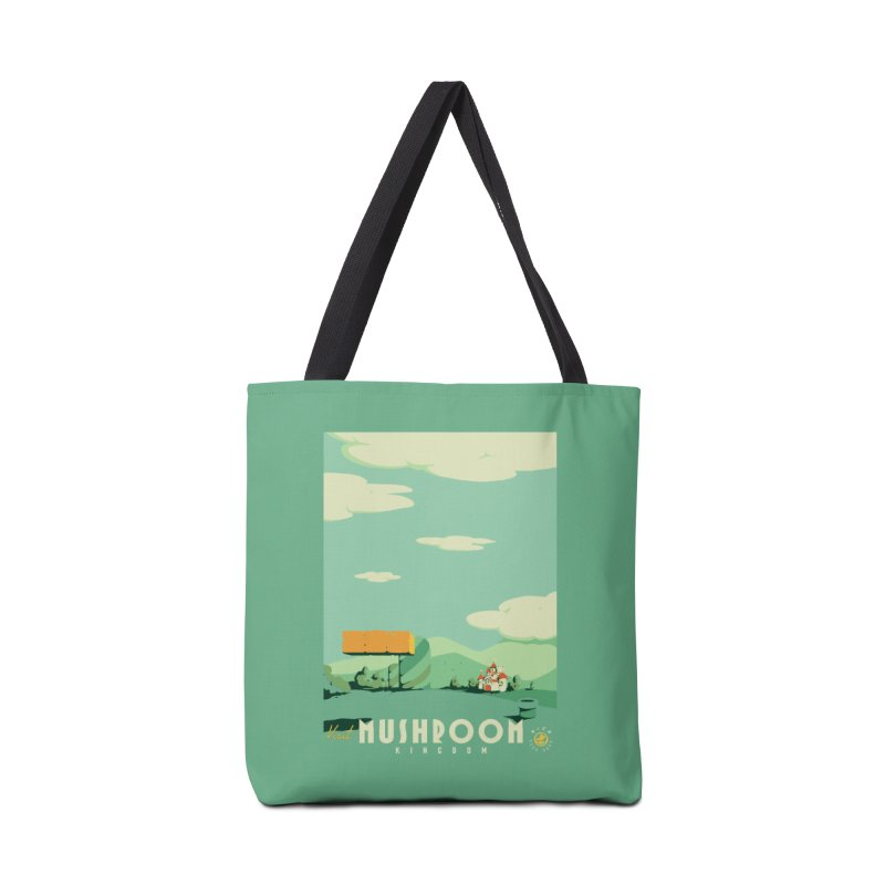 Visit Mushroom Kingdom Accessories Bag by mathiole