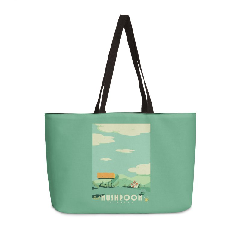 Visit Mushroom Kingdom Accessories Weekender Bag Bag by mathiole
