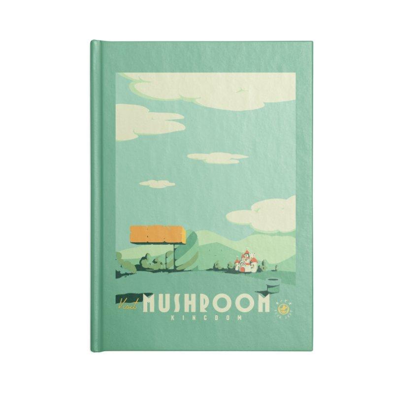 Visit Mushroom Kingdom Accessories Notebook by mathiole