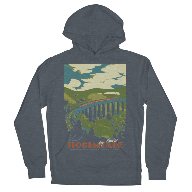 Visit Hogsmead Men's French Terry Pullover Hoody by mathiole