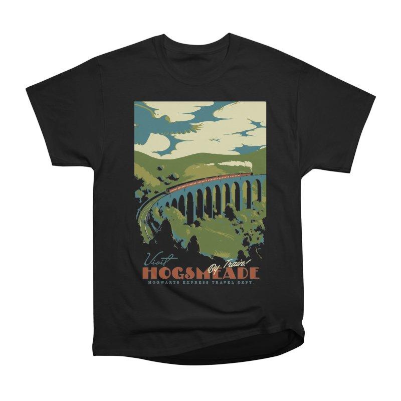 Visit Hogsmead Men's Heavyweight T-Shirt by mathiole