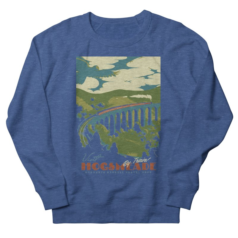 Visit Hogsmead Men's French Terry Sweatshirt by mathiole