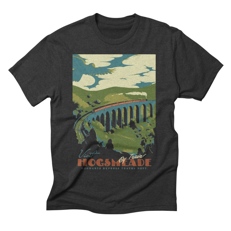 Visit Hogsmead Men's Triblend T-Shirt by mathiole