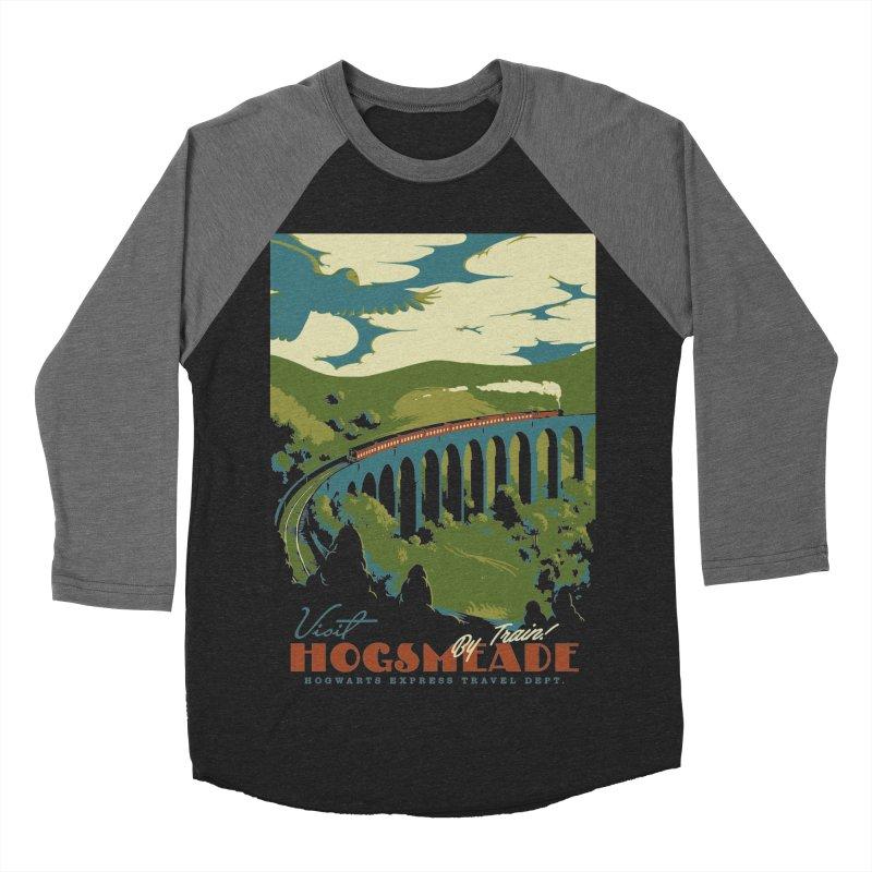 Visit Hogsmead Women's Baseball Triblend T-Shirt by mathiole