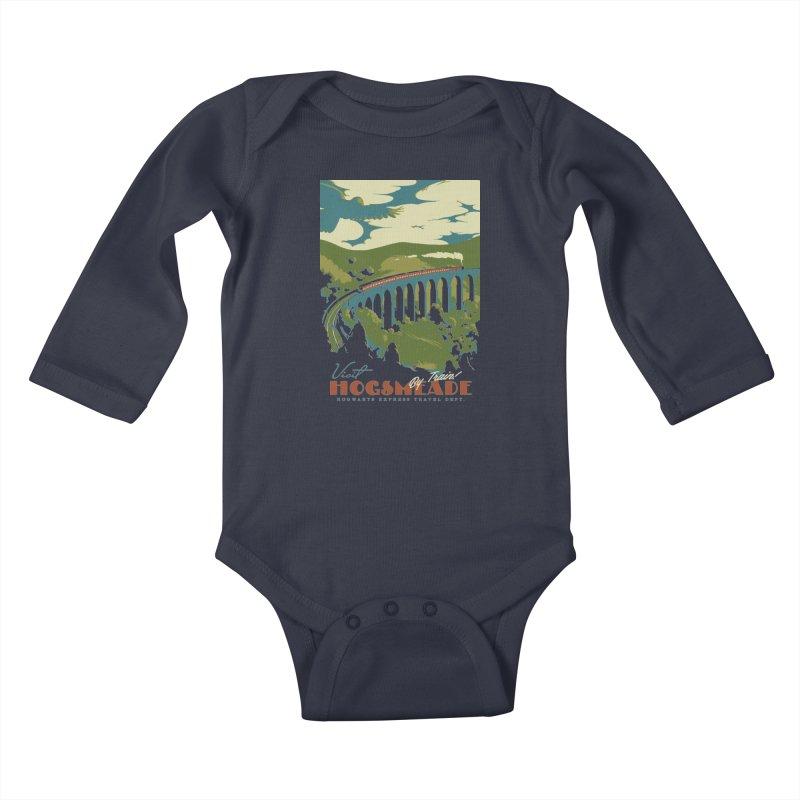 Visit Hogsmead Kids Baby Longsleeve Bodysuit by mathiole