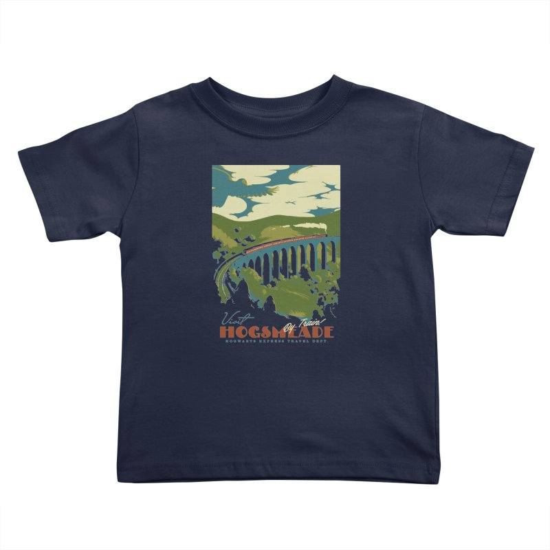 Visit Hogsmead Kids Toddler T-Shirt by mathiole