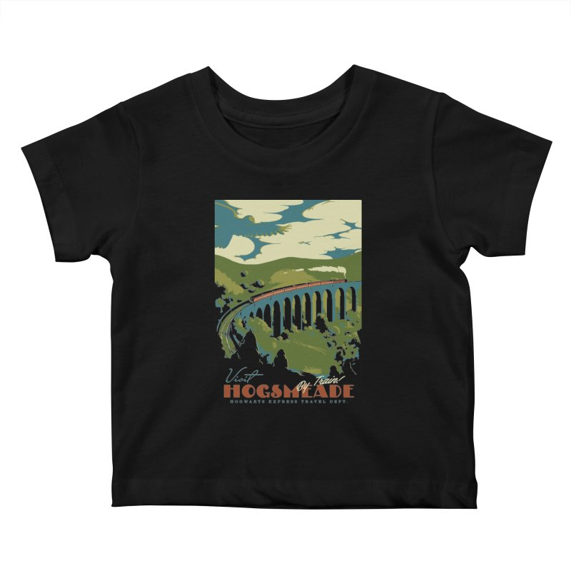 Visit Hogsmead Kids Baby T-Shirt by mathiole