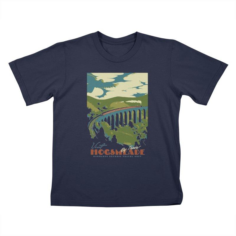 Visit Hogsmead Kids T-Shirt by mathiole