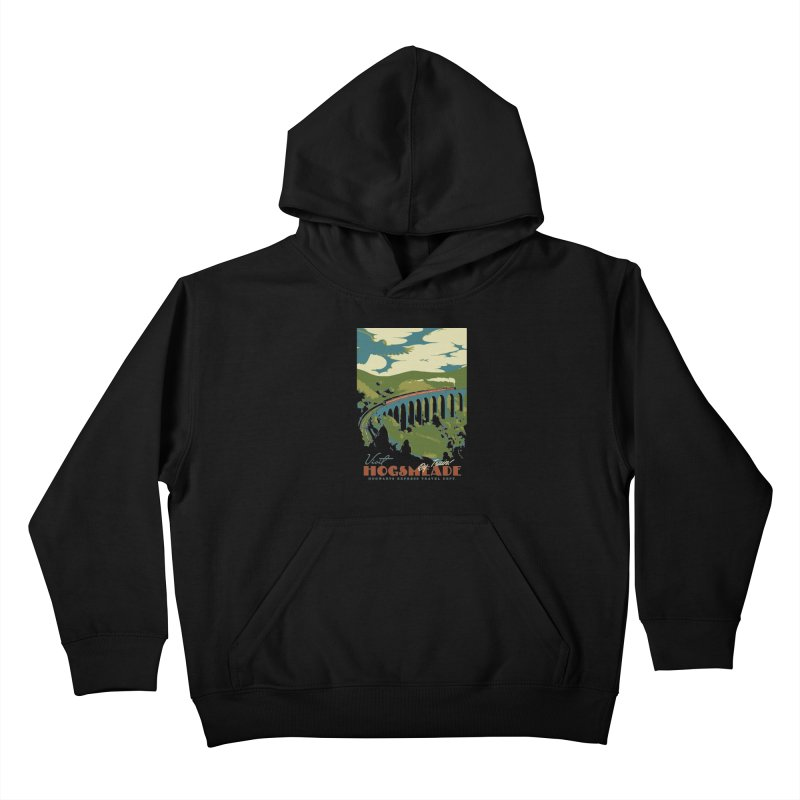 Visit Hogsmead Kids Pullover Hoody by mathiole