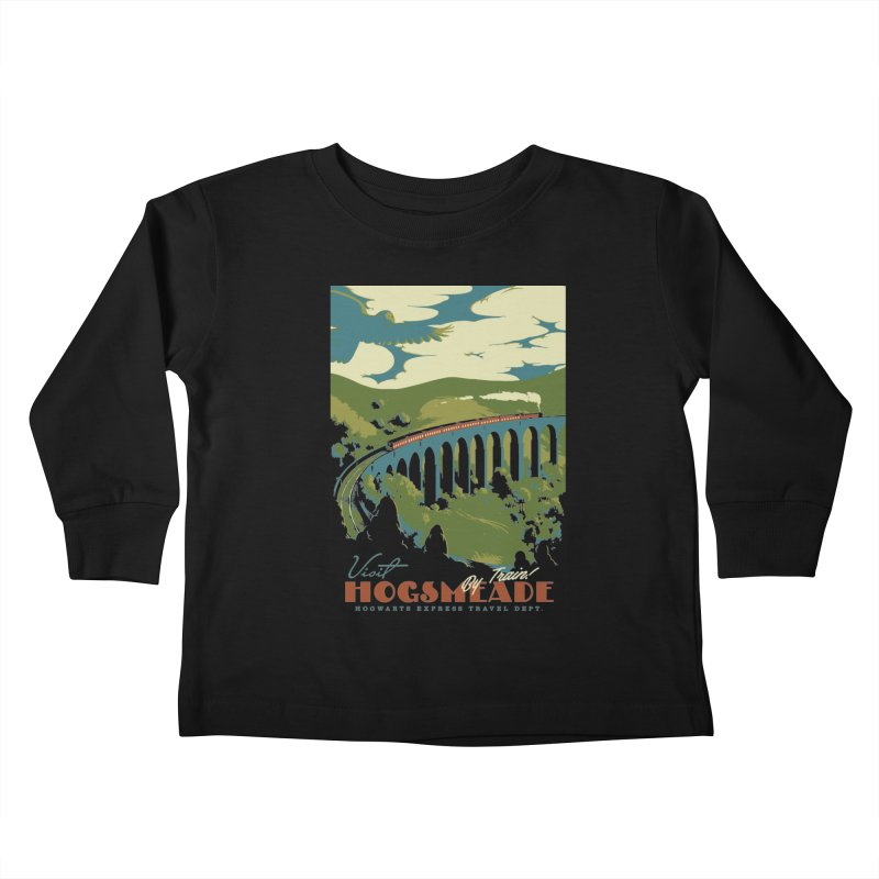 Visit Hogsmead Kids Toddler Longsleeve T-Shirt by mathiole