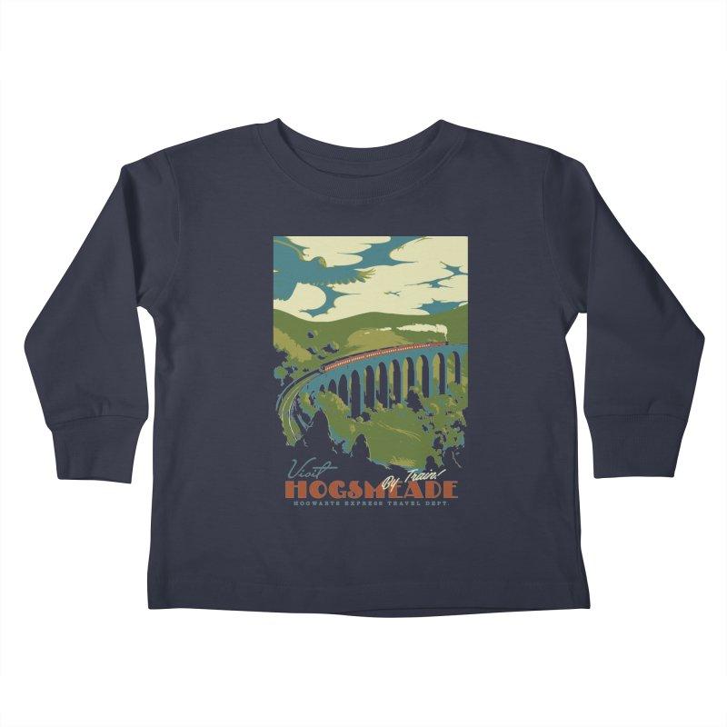 Visit Hogsmead Kids Toddler Longsleeve T-Shirt by mathiole