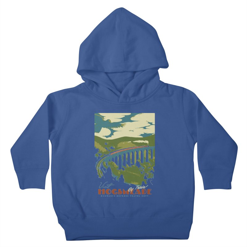 Visit Hogsmead Kids Toddler Pullover Hoody by mathiole
