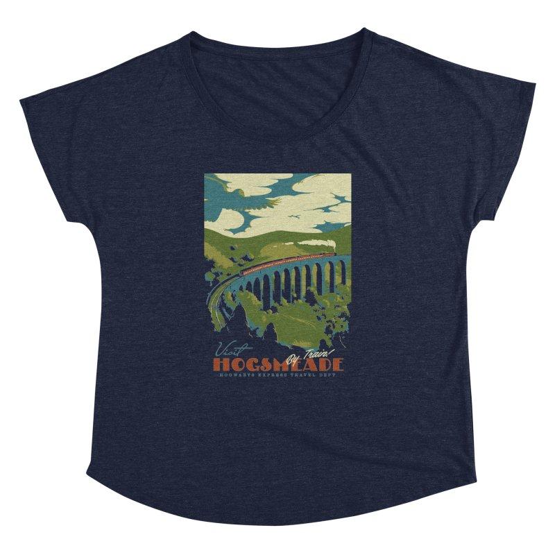 Visit Hogsmead Women's Dolman Scoop Neck by mathiole
