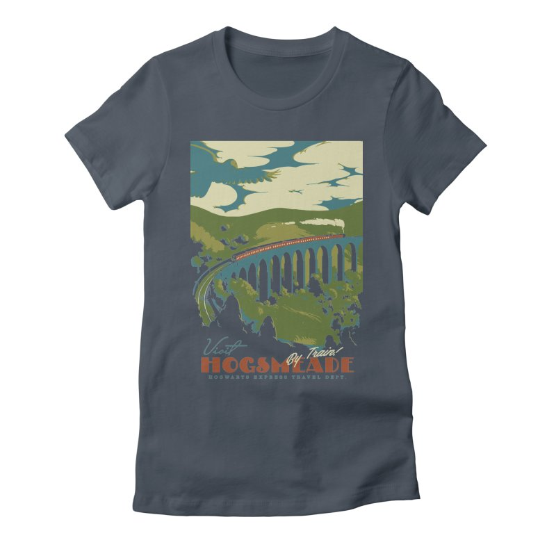 Visit Hogsmead Women's Fitted T-Shirt by mathiole