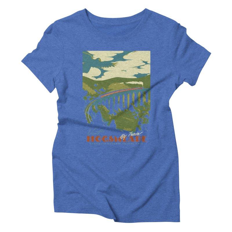 Visit Hogsmead Women's Triblend T-Shirt by mathiole